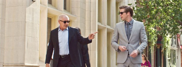 Paranoia Harrison Ford and Liam Hemsworth